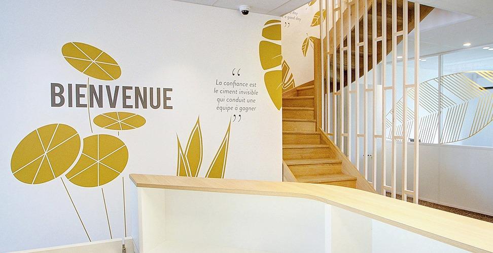 Décoration murale - bureaux