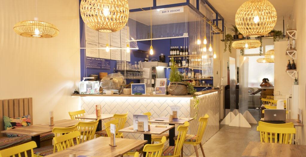 Décoration murale & signalétique - restaurant