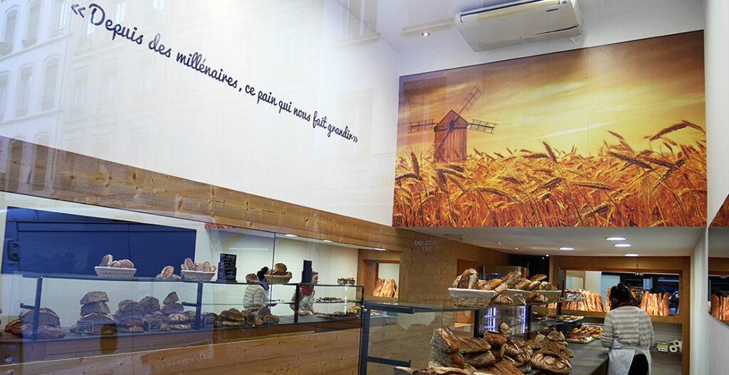 Adhésif mural découpé & Impression papier peint